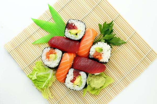 må en vegetar spise fisk og sushi