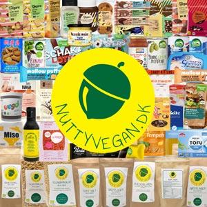 nutty vegan - vegansk webshop med veganske produkter online