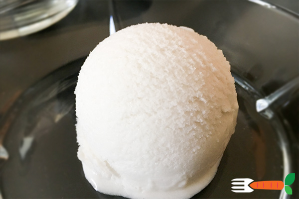 vegansk is opskrift med kokosmælk