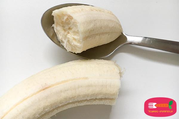 æggeerstatning vegansk - banan