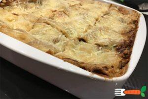 opskrift vegansk lasagne