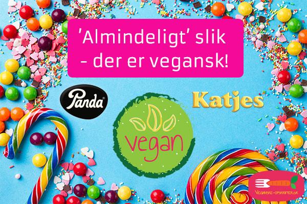 vegansk slik