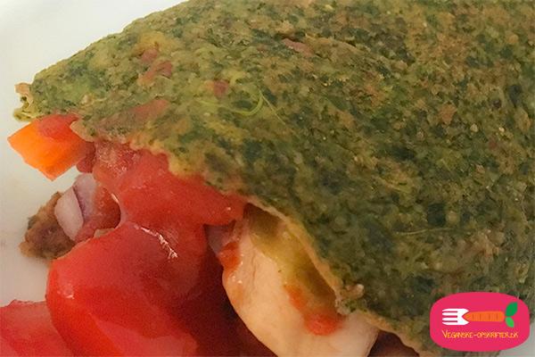 veganske spinatpandekager opskrift uden æg og mælk