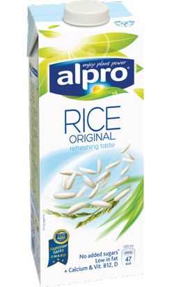 alpro rismælk risdrik