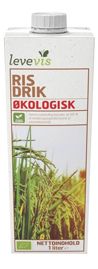 levevis plantemælk i dagligvarebutikker - risdrik