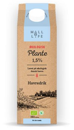 mill life havredrik - plantemælk i dagligvarebutikker