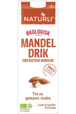 naturli plantemælk tilbud - mandelmælk