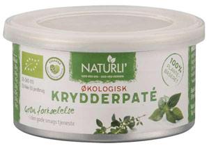 naturli postej - krydderpate kan købes i dagligvarebutikker
