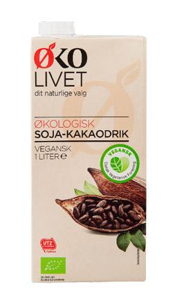 plantemælk med kakao - økolivet - plantemælk Aldi