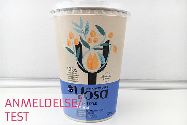 yosa havreyoghurt - vegansk yoghurt - anmeldelse og test