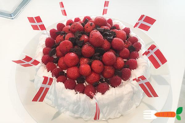 vegansk fødselsdagskage opskrift