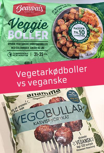 Beauvais veggie kødboller - anmeldelse og test