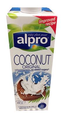 alpro rismælk med kokosmælk