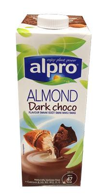 alpro vegansk kakaodrik af mandler