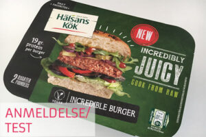 halsans kök incredible burger test og anmeldelse