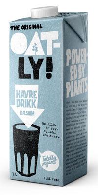 oatly havredrik - havremælk fra oatly