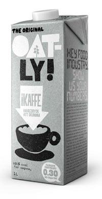 oatly ikaffe - vegansk plantedrik til kaffe
