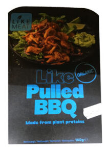 vegansk pulled pork - like meat pulled bbq - vegansk kød i supermarkeder