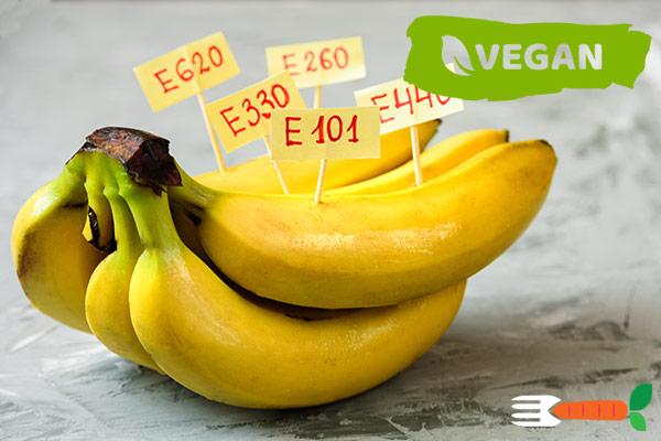 veganske e-numre - vegansk livsstil