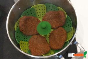 hjemmelavede veganske bøffer opskrift med hvedegluten