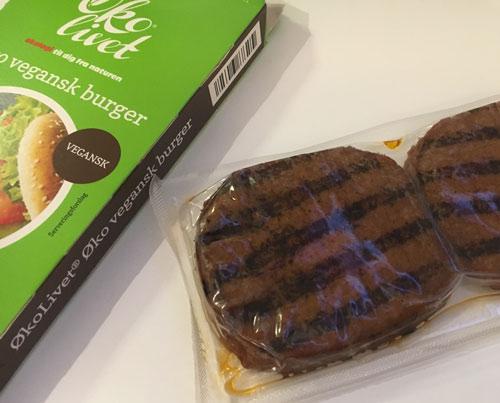 smagstest økolivet vegansk burger fra Aldi