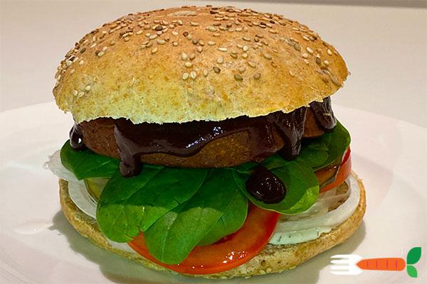 hjemmelavet vegansk burger opskrift veganske burgerbøffer
