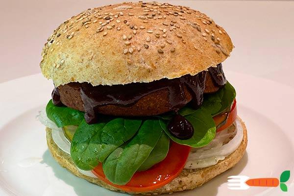 vegansk burger opskrift på veganske burgerbøffer