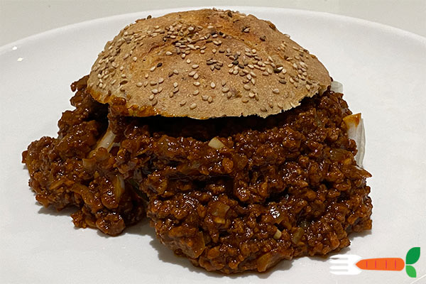 vegansk sloppy joe burger opskrift