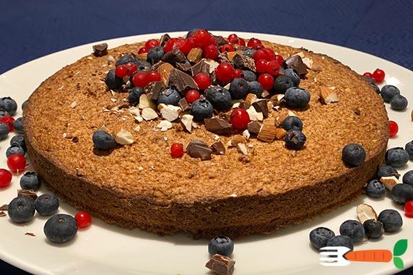 sukkerfri vegansk kage opskrift med nødder