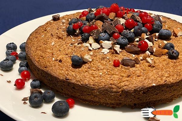 vegansk nøddekage sukkerfri opskrift med Sågger
