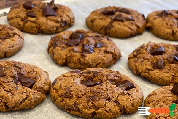 glutenfri cookies opskrift med bananel og tapiokamel