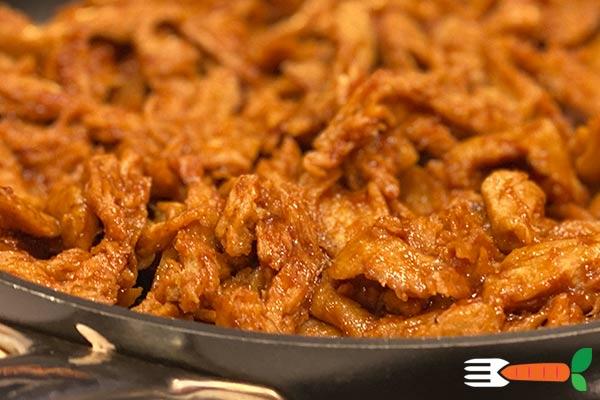 hjemmelavet vegansk kylling opskrift med hvedegluten