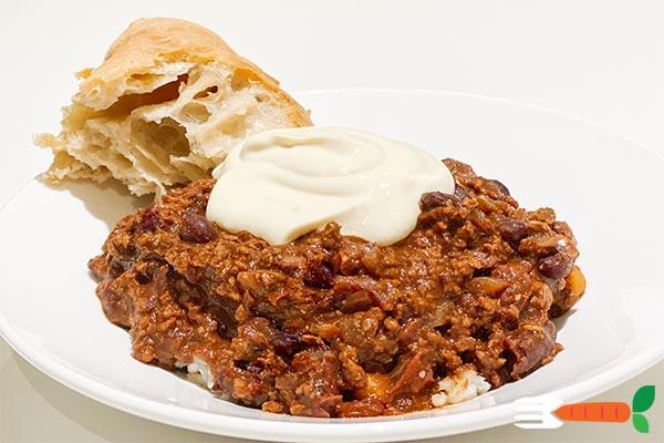 vegansk chili con carne opskrift -