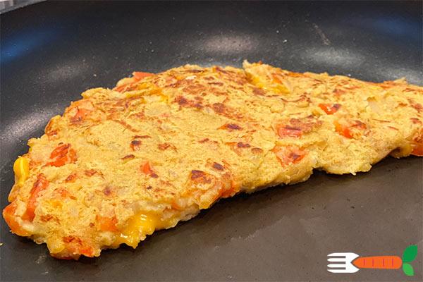vegansk omelet opskrift vegansk brunch opskrifter