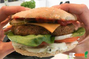 vegansk burger opskrift med seitanmel