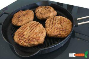 veganske burgerbøffer opskrift med hvedegluten seitanmel