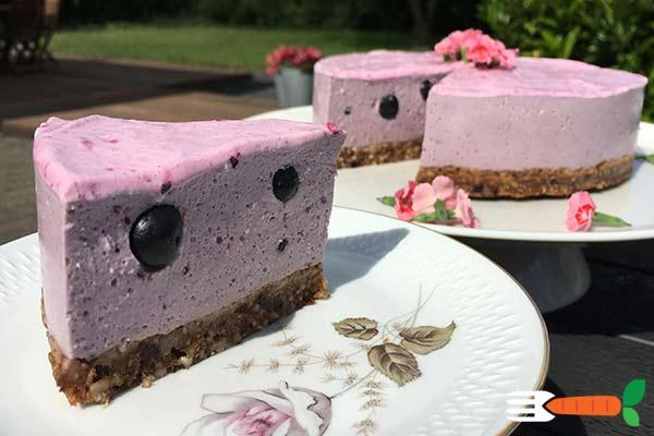 vegansk tærte dessert opskrift
