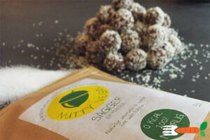 sukkerfri havregrynskugler - opskrifter med erythritol