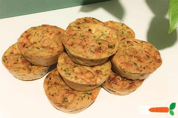 veganske madmuffins opskrift