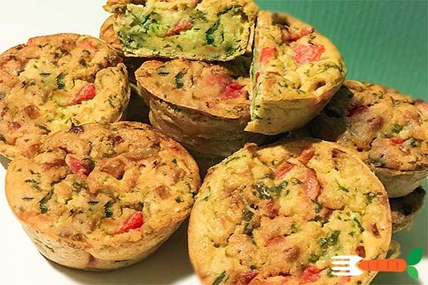 veganske madmuffins uden æg opskrift